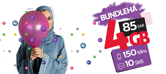 Stay connected and try out our latest Bundleha offers
